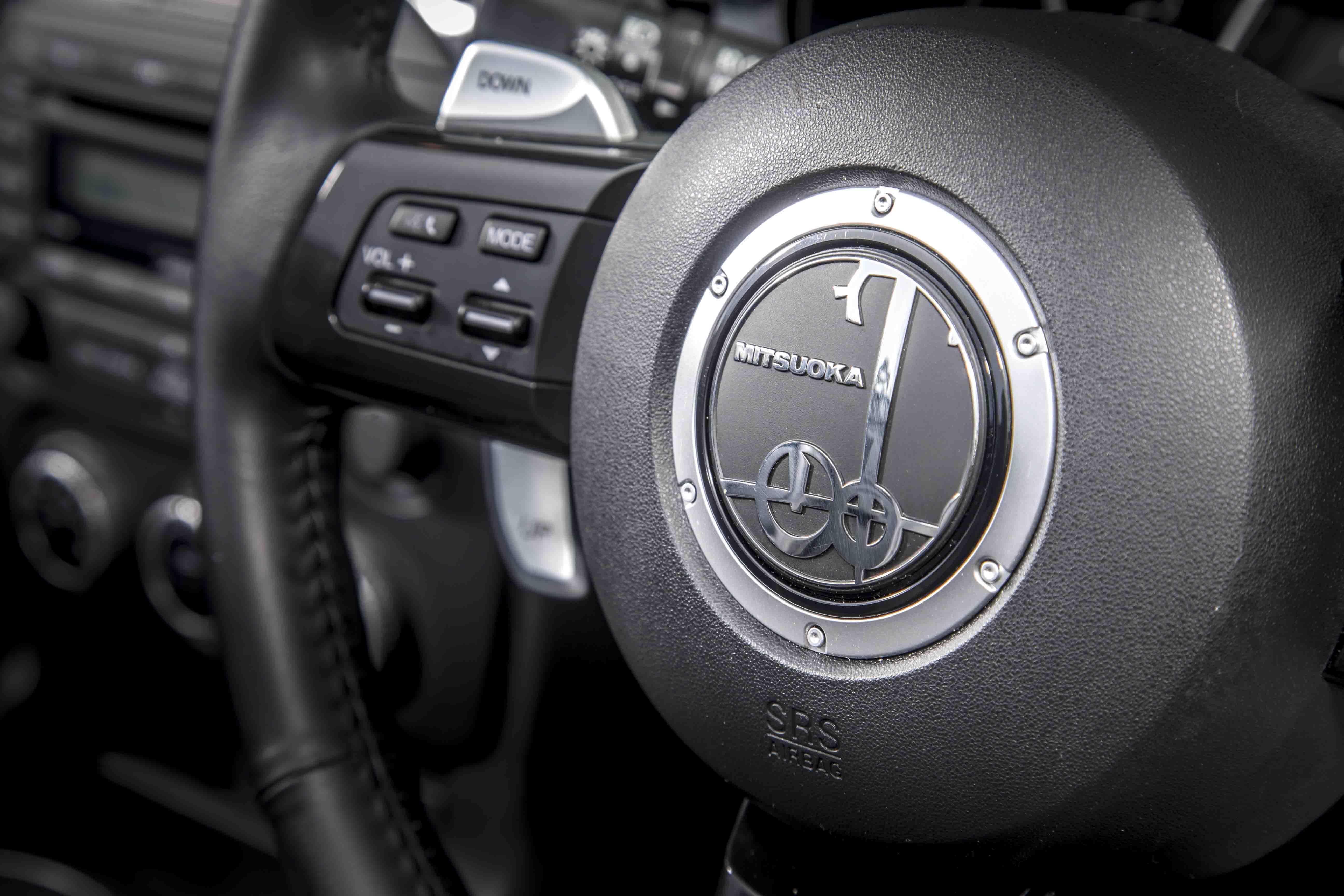 Mitsuoka Roadster steering wheel