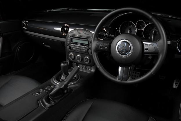 Mitsuoka Roadster UK Specification Interior shot