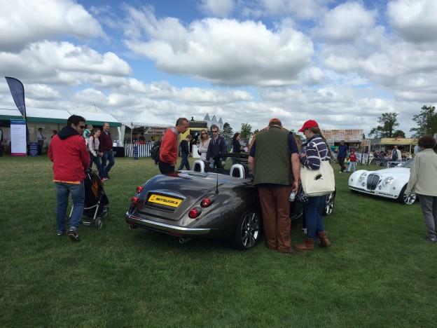 Mitsuoka Roadster at the Surrey Show