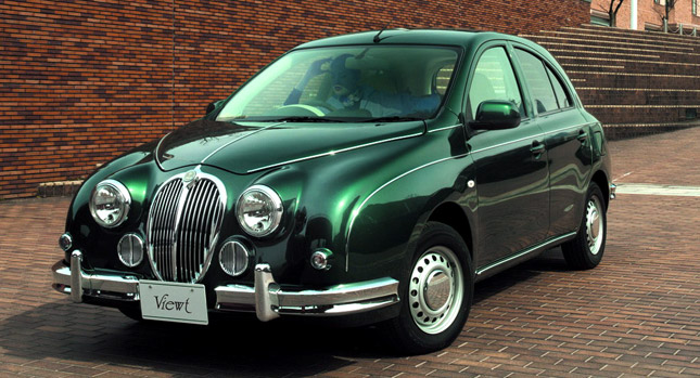 Mitsuoka Viewt to display at London Motor Show