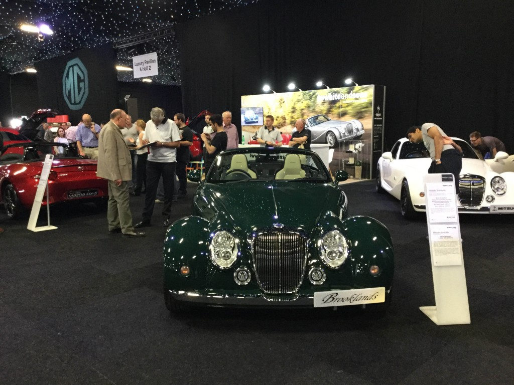 Mitsuoka Brooklands at the London Motor Show