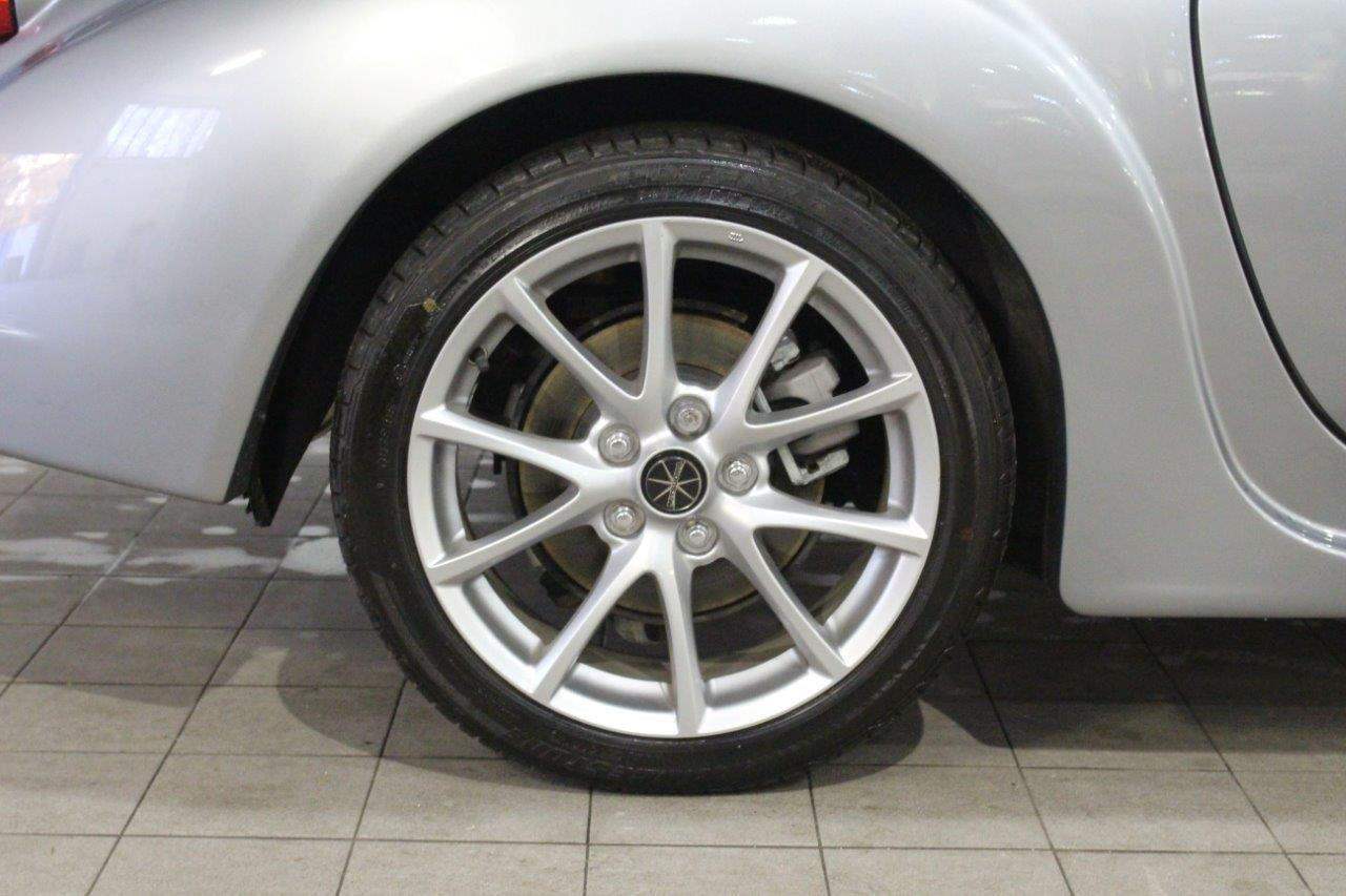 Mitsuoka roadster manual silver alloy wheel