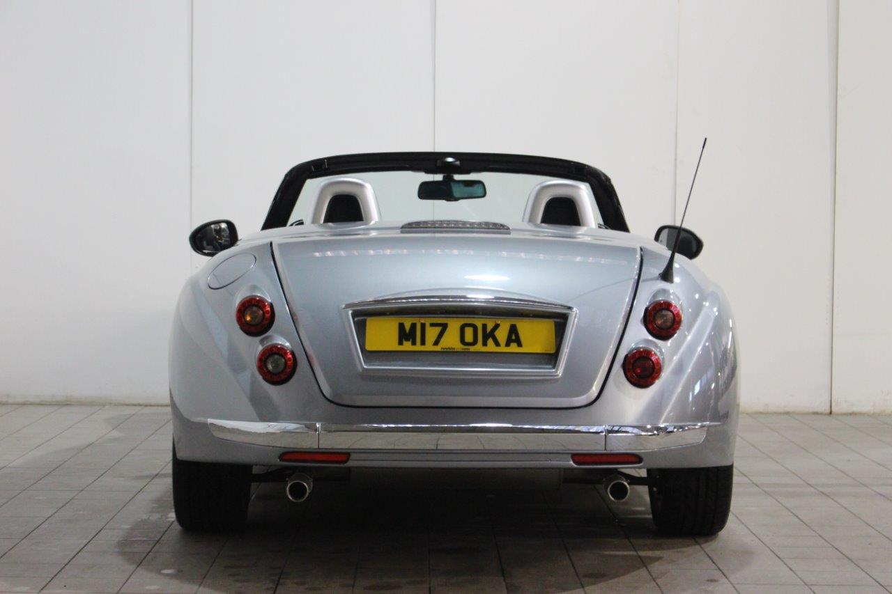 Mitsuoka roadster manual silver rear