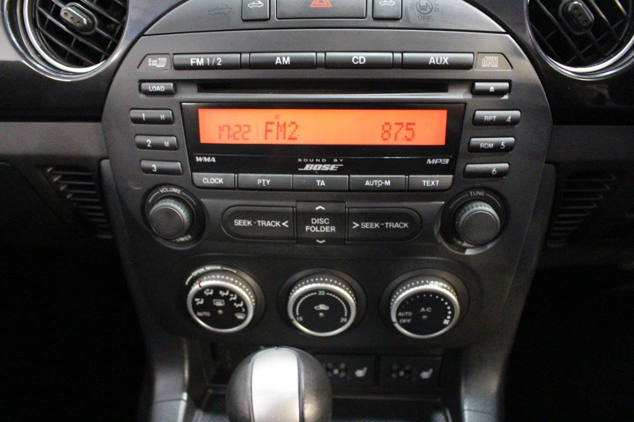 mitsuoka roadster multimedia and air conditioning controls